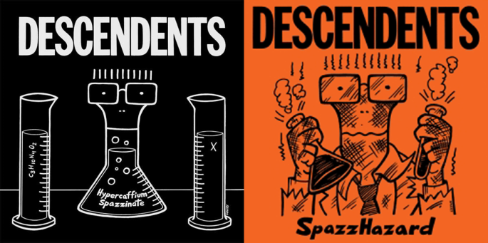 Descendents album covers