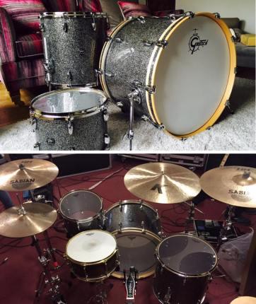 Eva Plays Dead stolen drum kit image